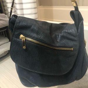 Vince Camuto boho style snakeskin purse